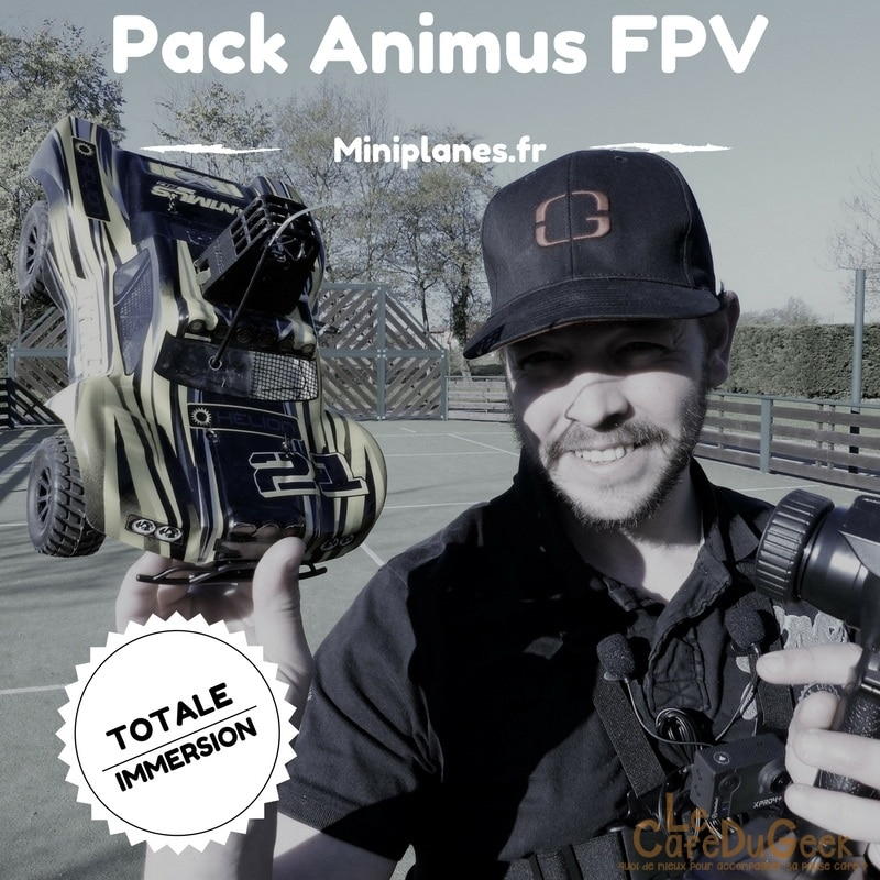 Photo of [TEST] Mini Voiture RC FPV, pilotage en immersion avec le pack Animus FPV