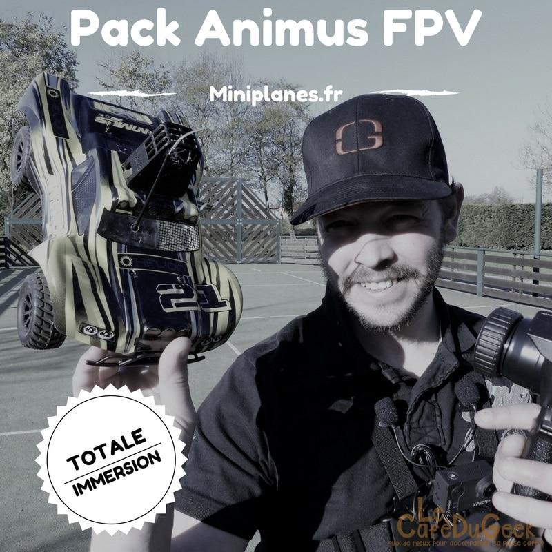Photo de [TEST] Mini Voiture RC FPV, pilotage en immersion avec le pack Animus FPV