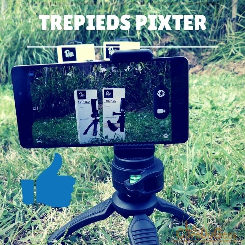 Photo of [TEST] Trépieds PIXTER, Prenez votre pied avec votre smartphone