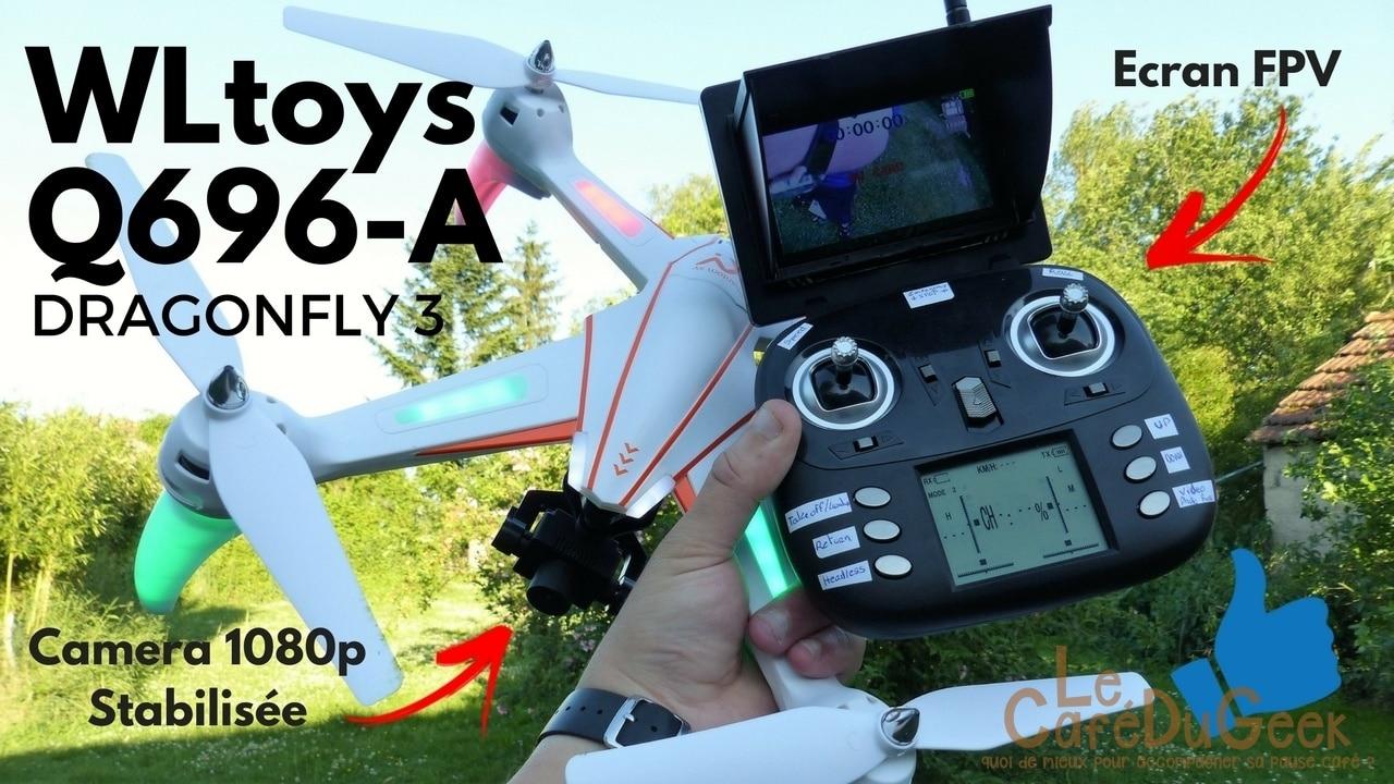 Photo de [TEST] WLtoys Q696 A, un excellent drone pour les prises de vues