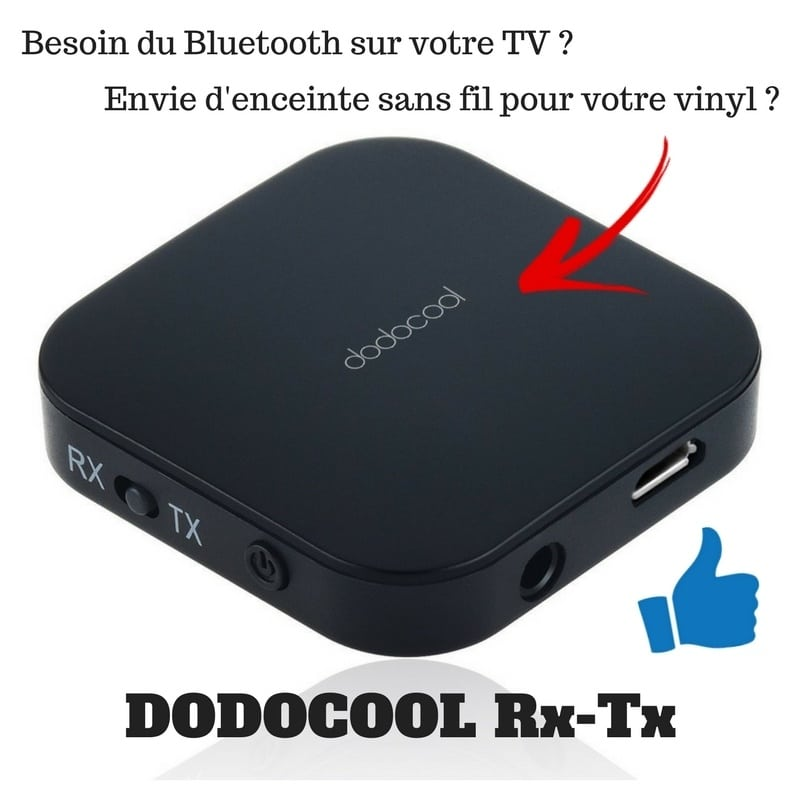 Photo of [TEST] Dodocool Rx-Tx Bluetooth, offrez du sans Fil à vos appareils
