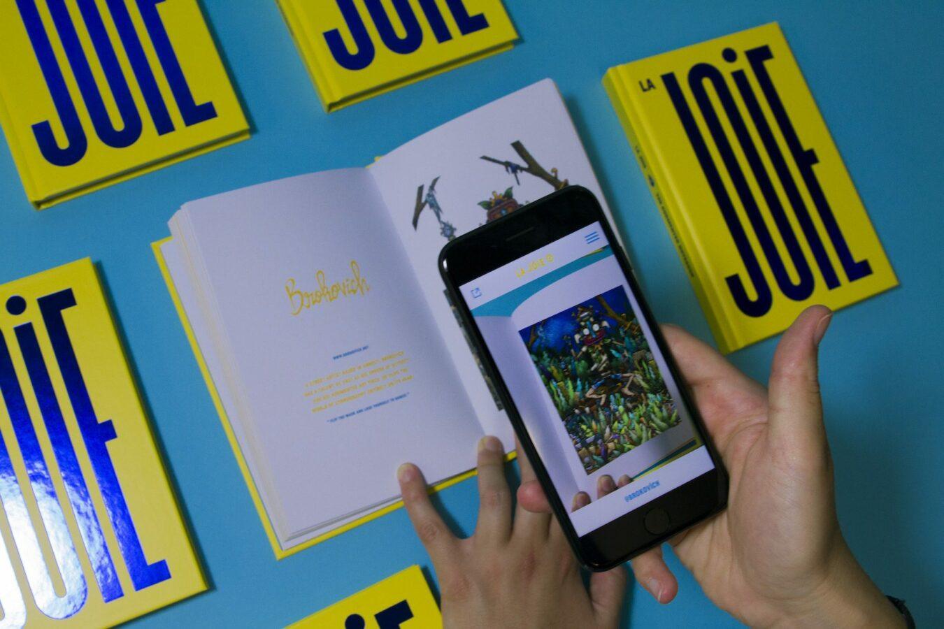 Photo de MNSTR présente «La Joie», un carnet en réalité augmentée