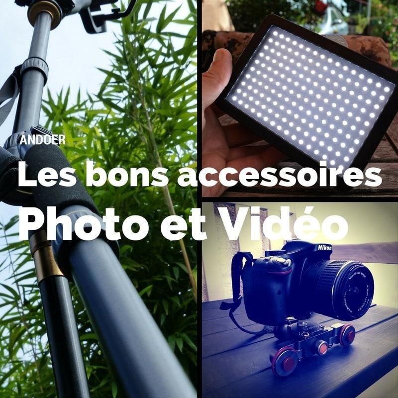 Photo de [TEST] Andoer, des accessoires pour photographes et vidéastes