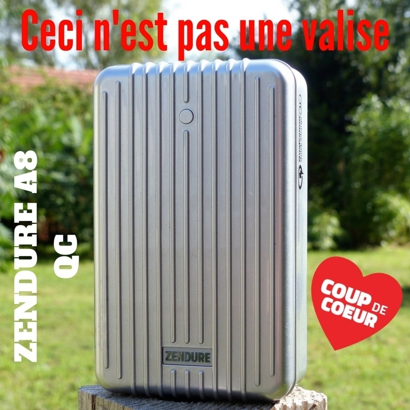 Photo de [TEST] ZENDURE A8 QC, Ce Power Bank a la dent dure !!!