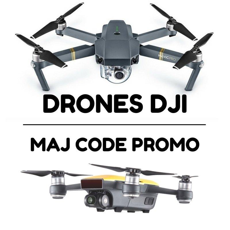 Photo de MAJ des promos sur les drones DJI, Mavic Pro et Spark