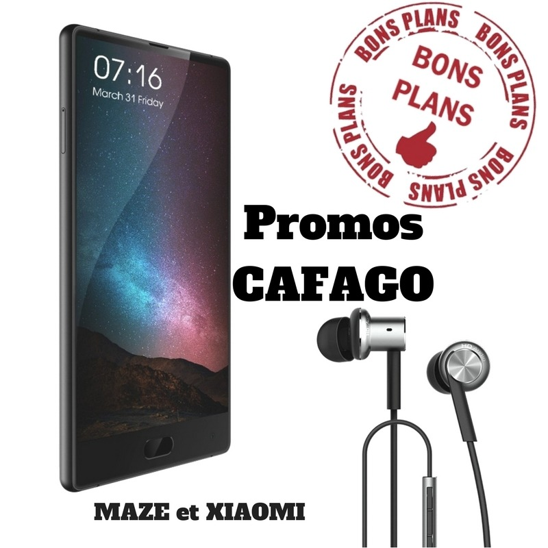 Photo de Nouvelle vague de promos sur Cafago, Maze Alpha et Xiaomi