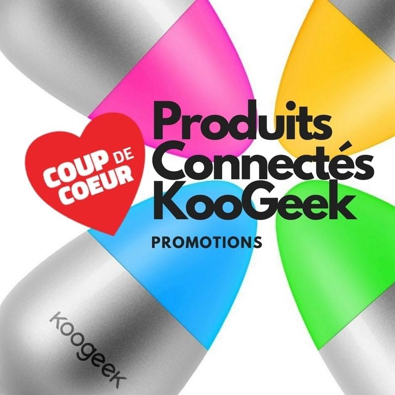 Photo de Les Produits connectés KooGeek jusqu'à – 50%