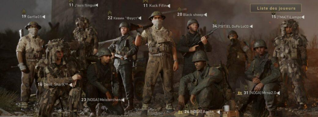 World war II équipe