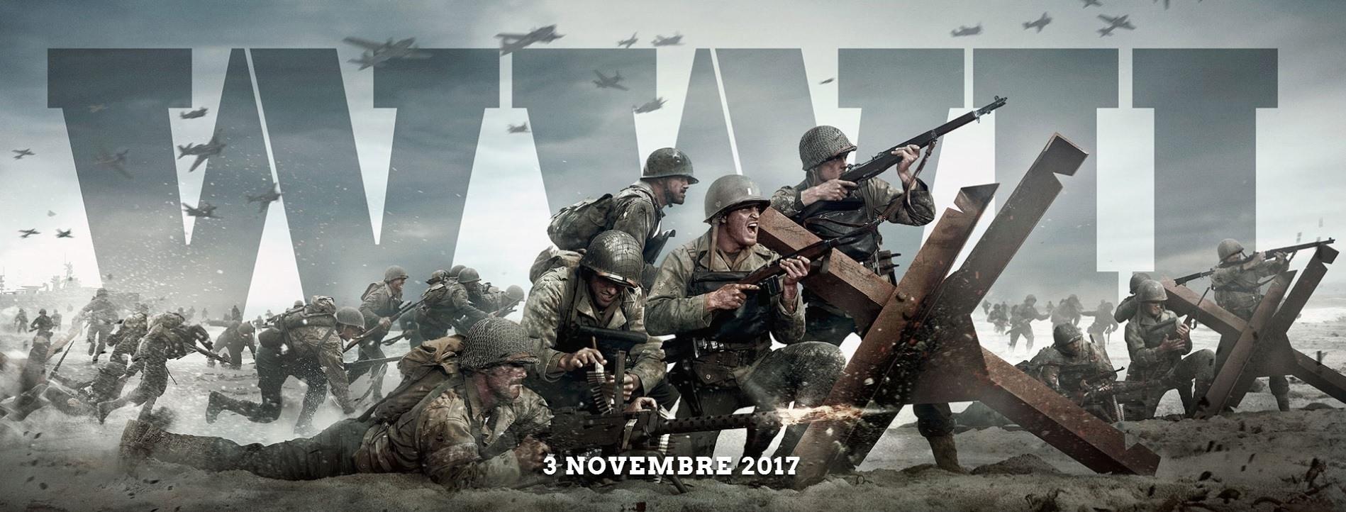 CoD : World War II date de sortie