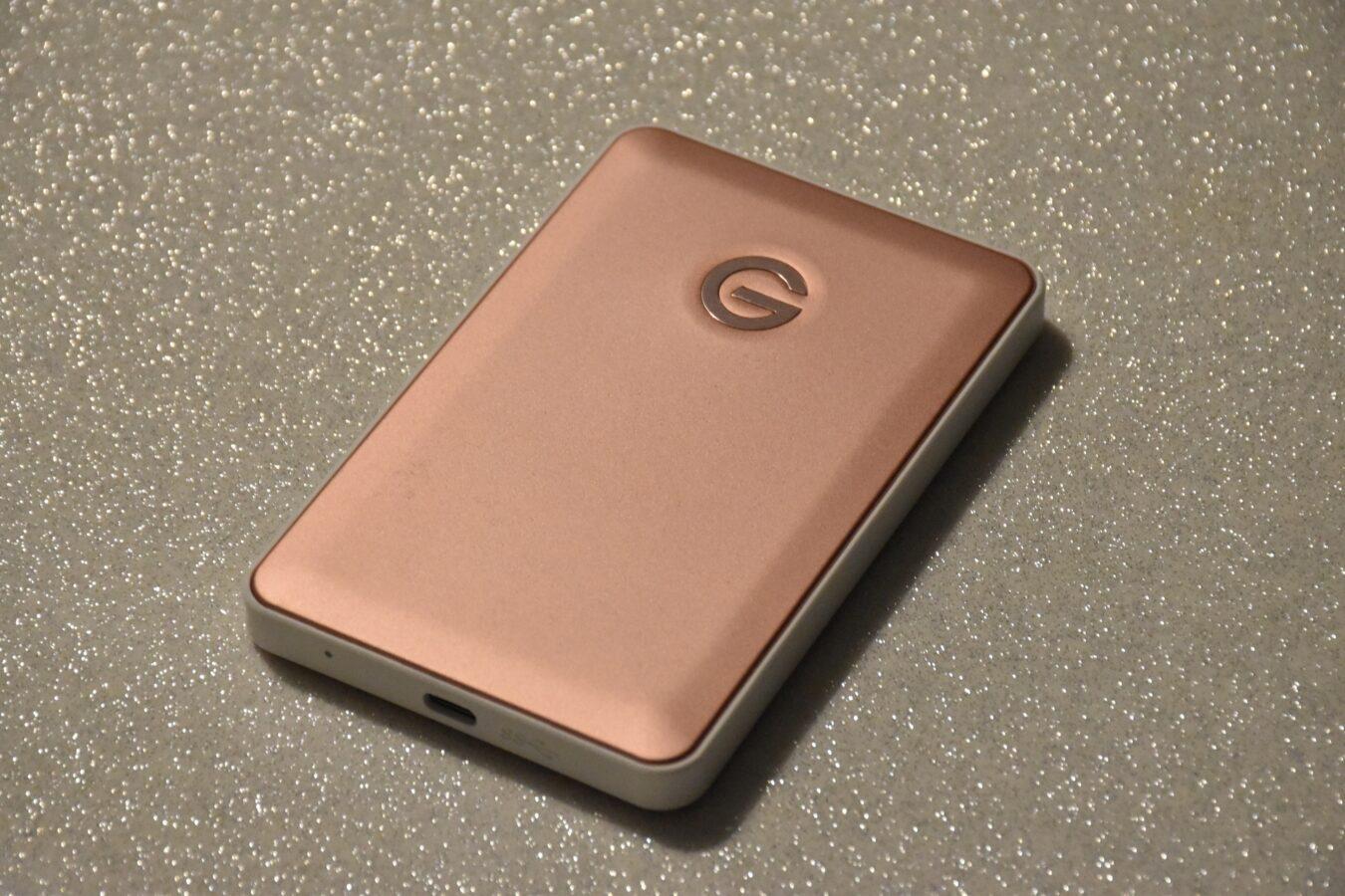 Photo de [TEST] G-Drive Mobile USB-C, aussi rapide qu'un SSD ??