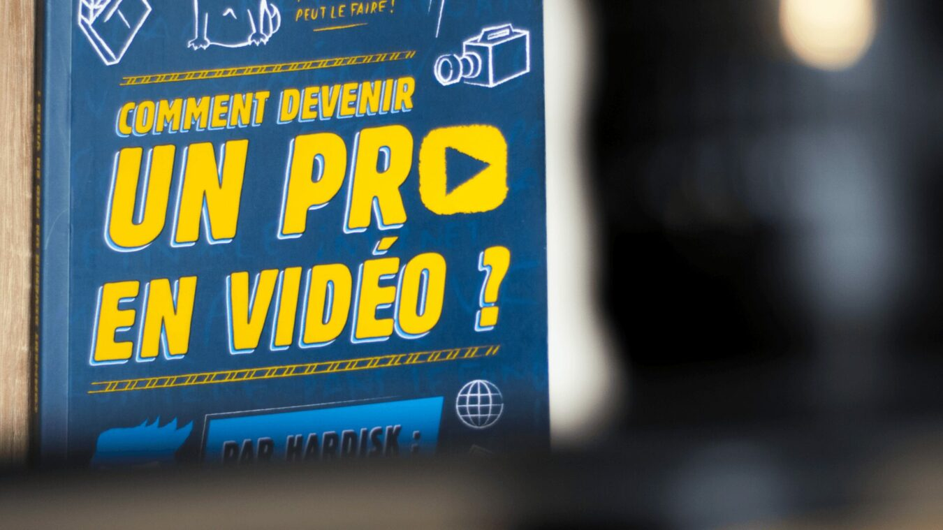 Photo de Un livre accessible et ludique pour «devenir un pro en vidéo» !