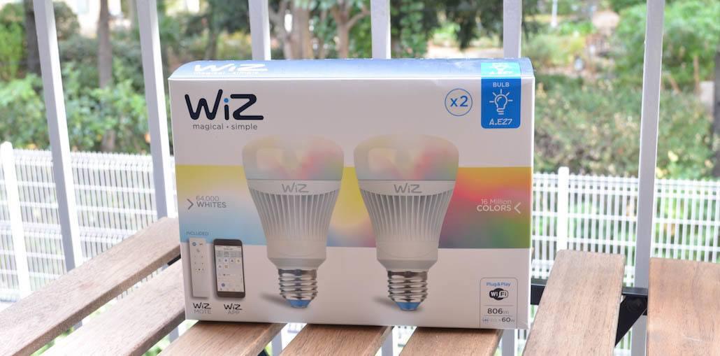 Photo de Test – Une collection de luminaires connectés WiFi, voici WIZ !
