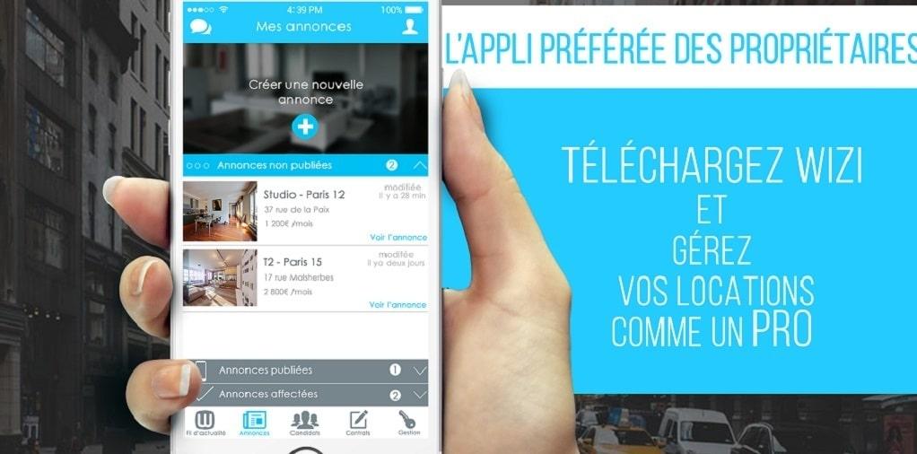 Photo de Start-up – Wizi : L'application immobilière agréable pour le porte feuille et la planète