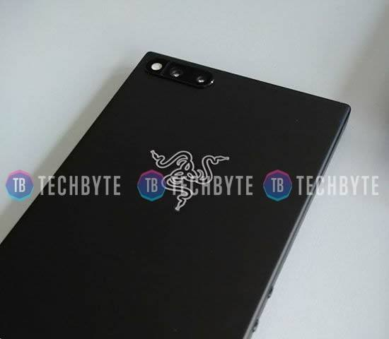 Photo leaké du Razer Phone