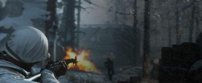 World War II shot