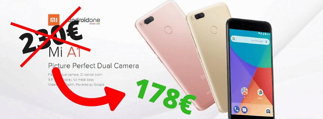Photo de Les Bons Plans du Geek : XIAOMI Mi A1 4G à 178€ et bien d'autres – 27 Octobre