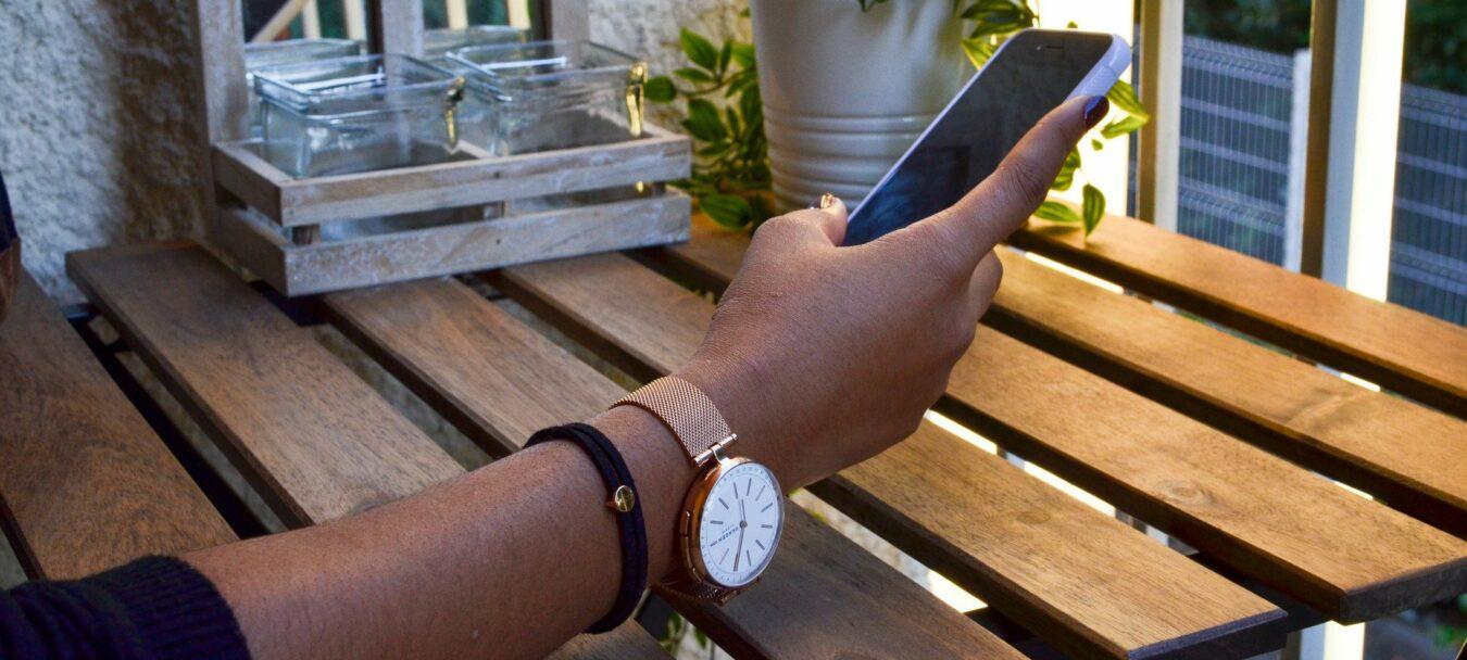 Photo de Test – Skagen propose maintenant des montres hybrides avec la gamme Signatur !