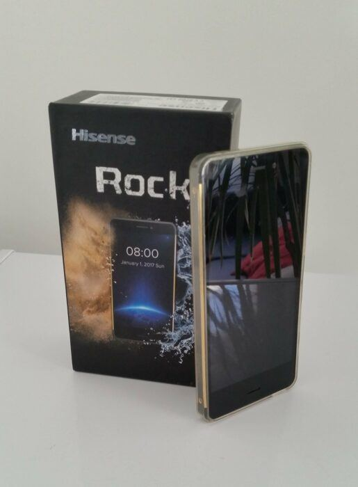 Hisense Rock Phone&Box