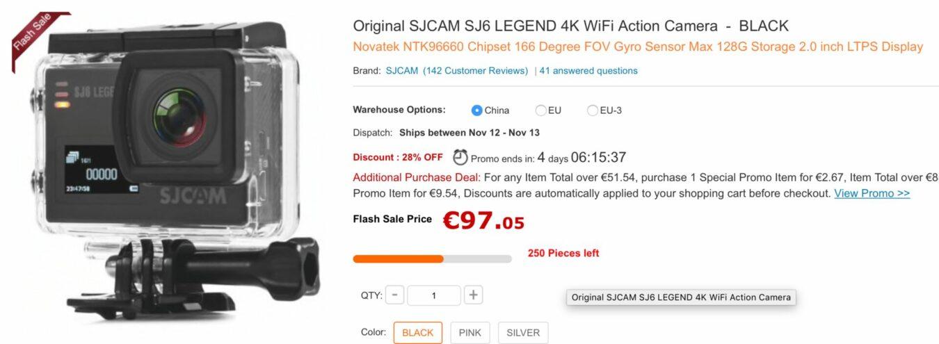 Photo de Les Bons Plans du Geek : Une action Cam à 68€, un PC à 129€ et bien d'autres – 10 novembre