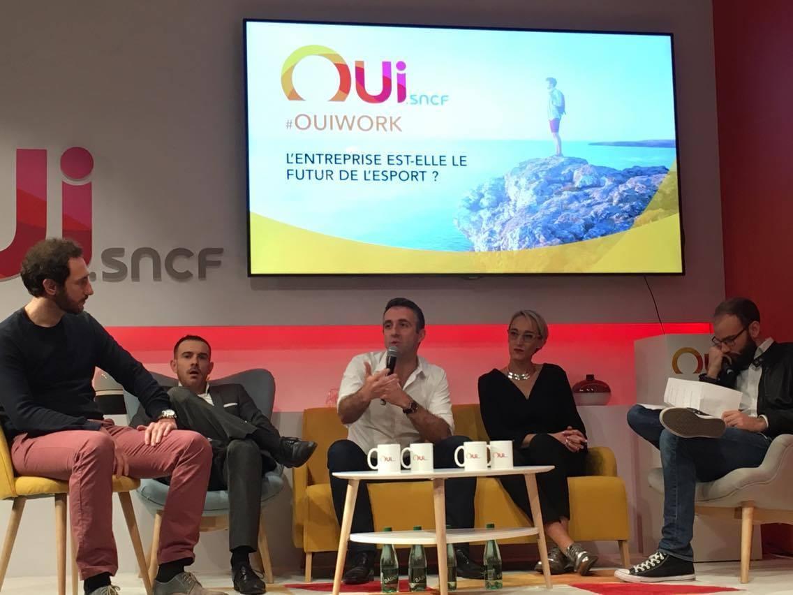 Photo de OUI.sncf se met à l'e-Sport et on a discuté avec eux !