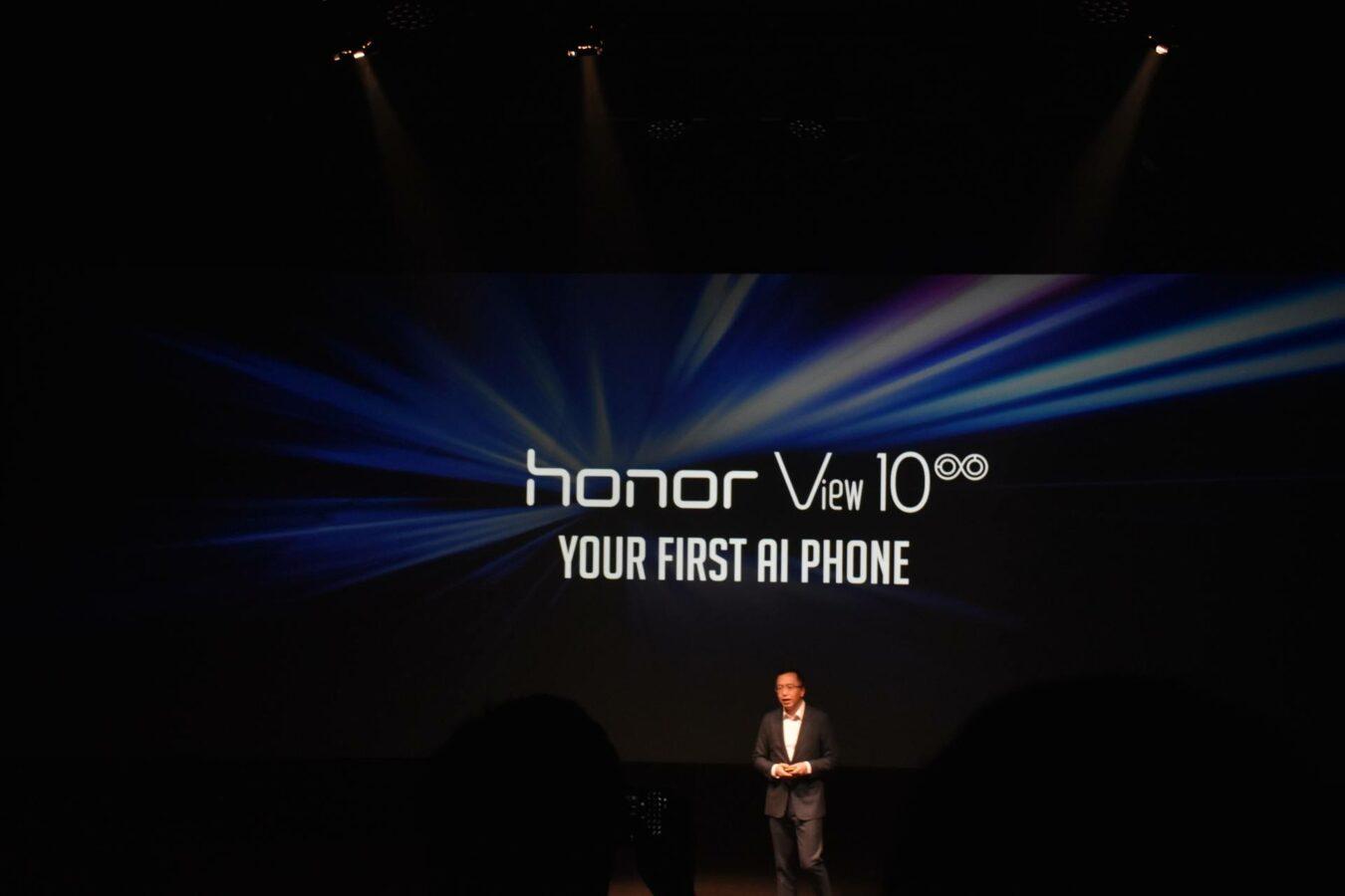 Photo de News – Honor View 10, votre premier téléphone sous AI