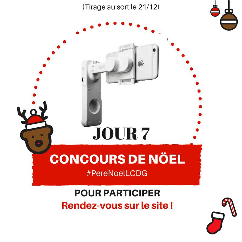 Photo de Le Calendrier du Geek – Jour 7 : X-Cam Sight 2 Stabilisateur pour smartphone (Valeur : 80€)