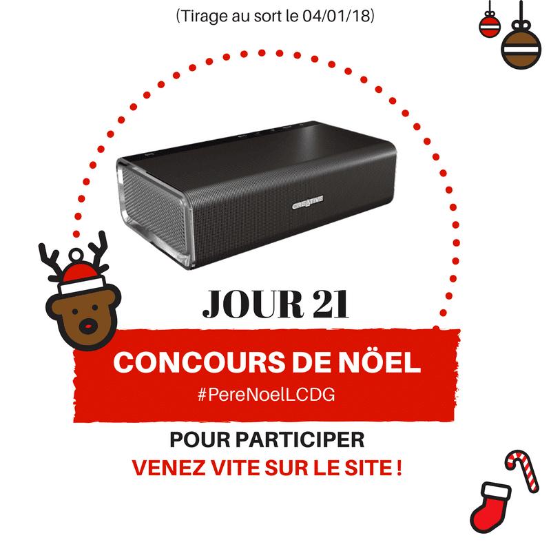Photo de Le Calendrier du Geek – Jour 21 : Une enceinte Creative Sound Blaster Roar (Valeur : 200€)