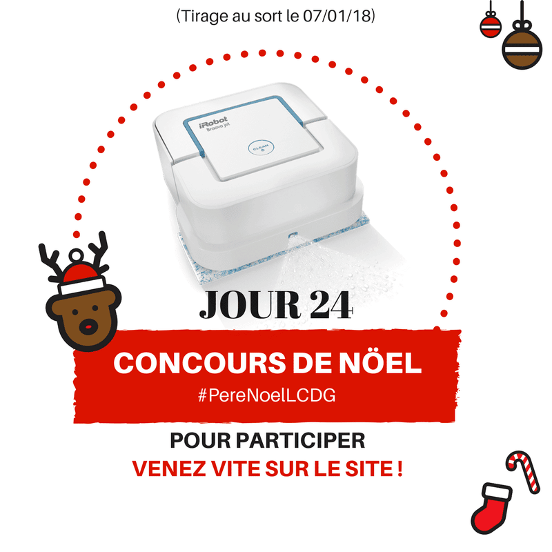 Photo of Le Calendrier du Geek – Jour 24 : iRobot Braava Jet 240 (Valeur : 250€)