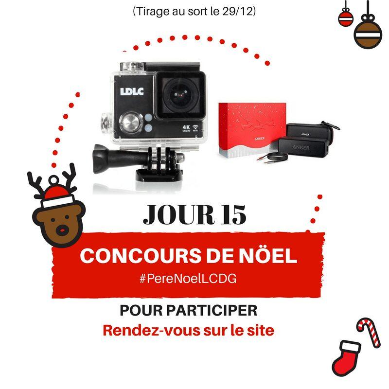 Photo of Le Calendrier du Geek – Jour 15 : La Caméra LDLC Touch 2 et une enceinte Anker (200€)