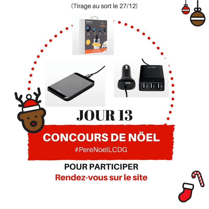 Photo of Le Calendrier du Geek – Jour 13 : PNY vous gâte pour Noël (100€)