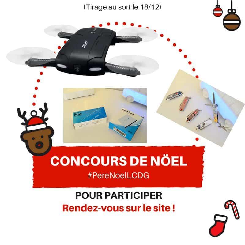 Photo de Le Calendrier du Geek – Jour 5 : Un drone JJRC, des couteaux de poches et un kit domotique (Lot de 100€)