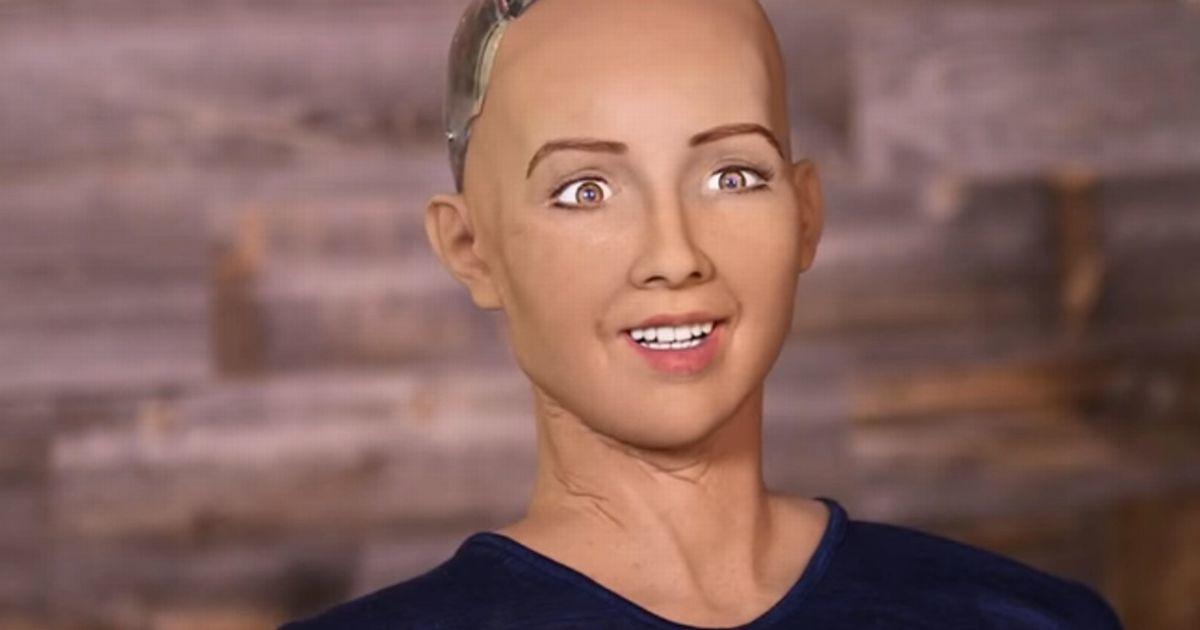 Photo de News – Un Robot devient citoyen, découvrez Sophia !
