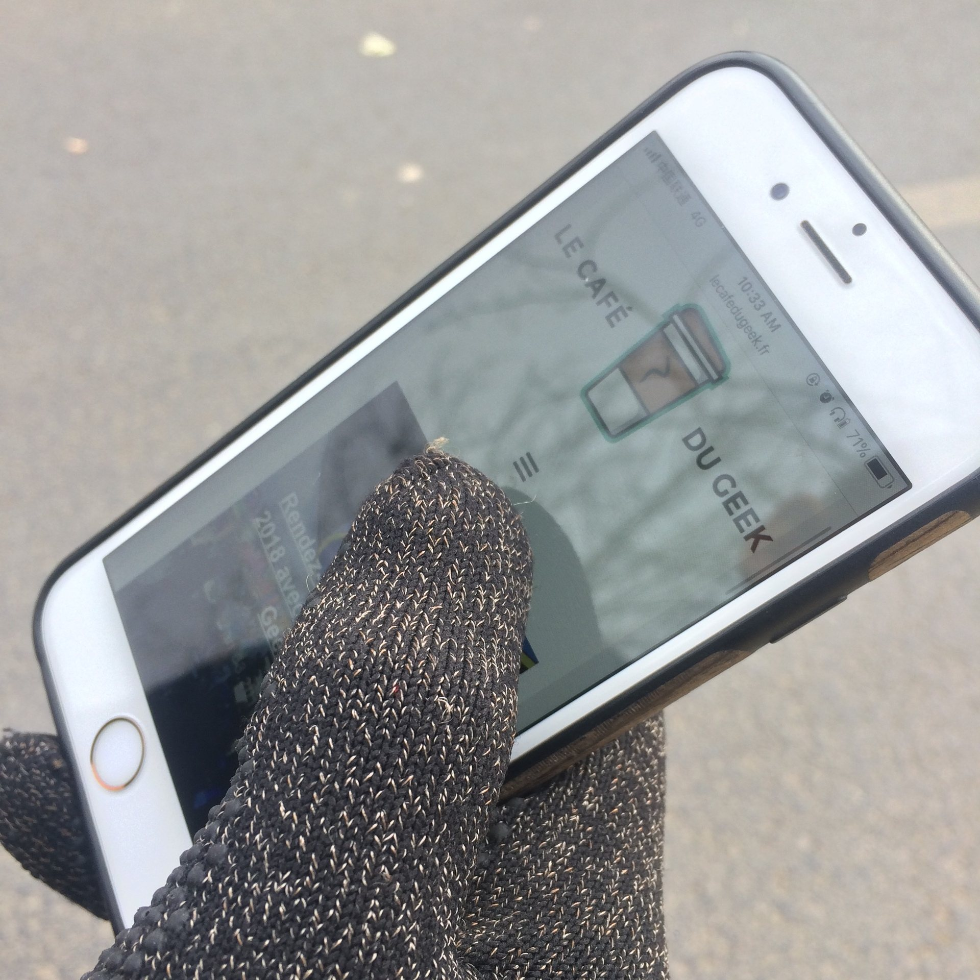 mujjo gant tactile