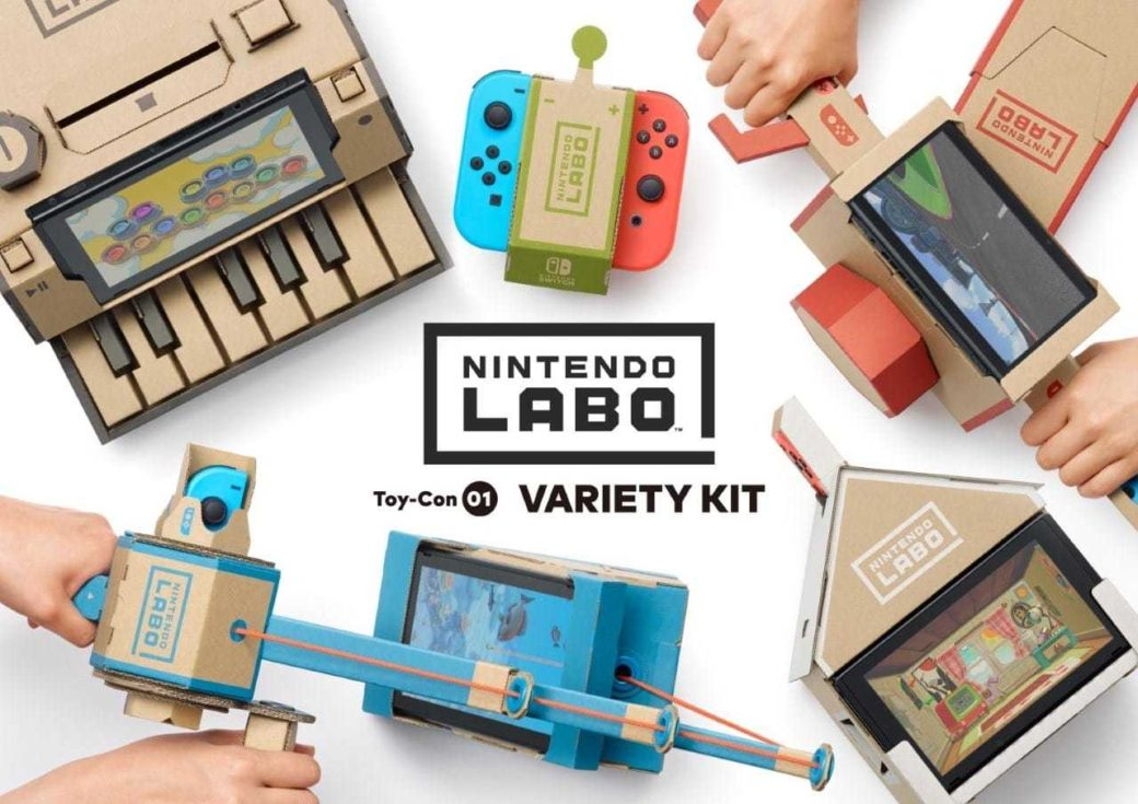 Photo of Nintendo Labo : La firme fait carton plein pour sa Switch