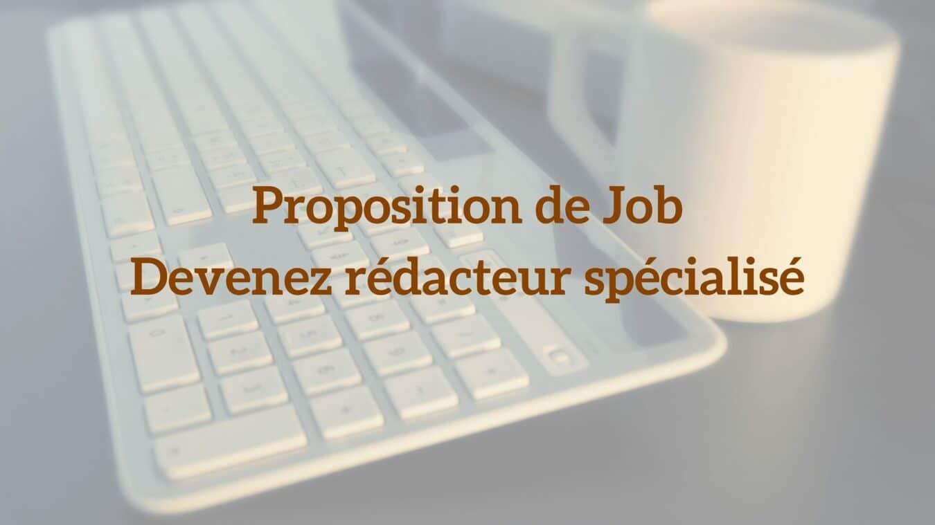 Photo de Proposition de Job – Devenez rédacteur spécialisé en technologie chez Le Café du Geek