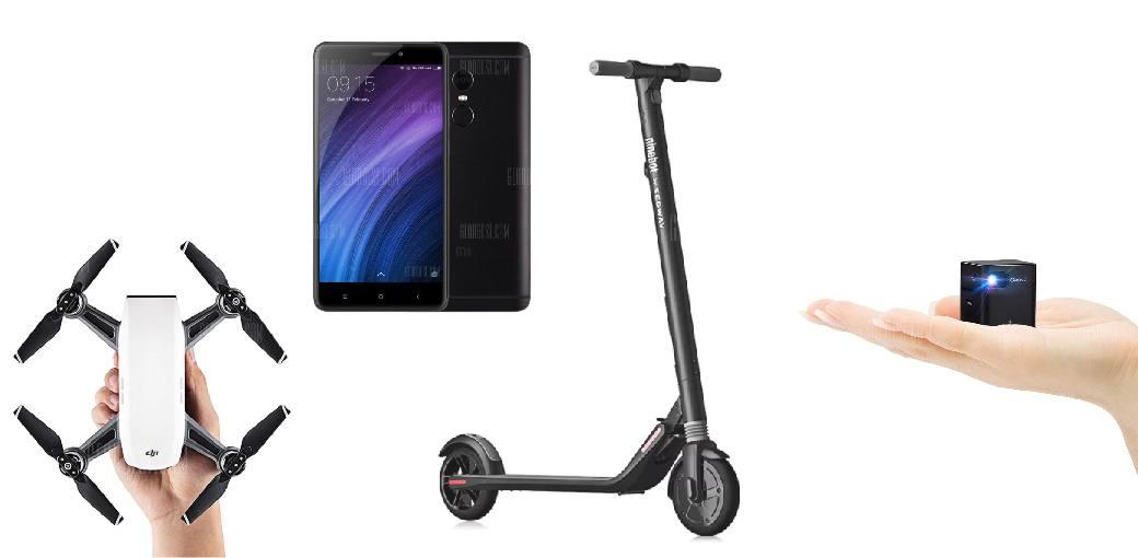Photo de Bons Plans Geek : Xiaomi Redmi Note 4 4G à moins de 100€ et bien d'autres – 08 Janvier