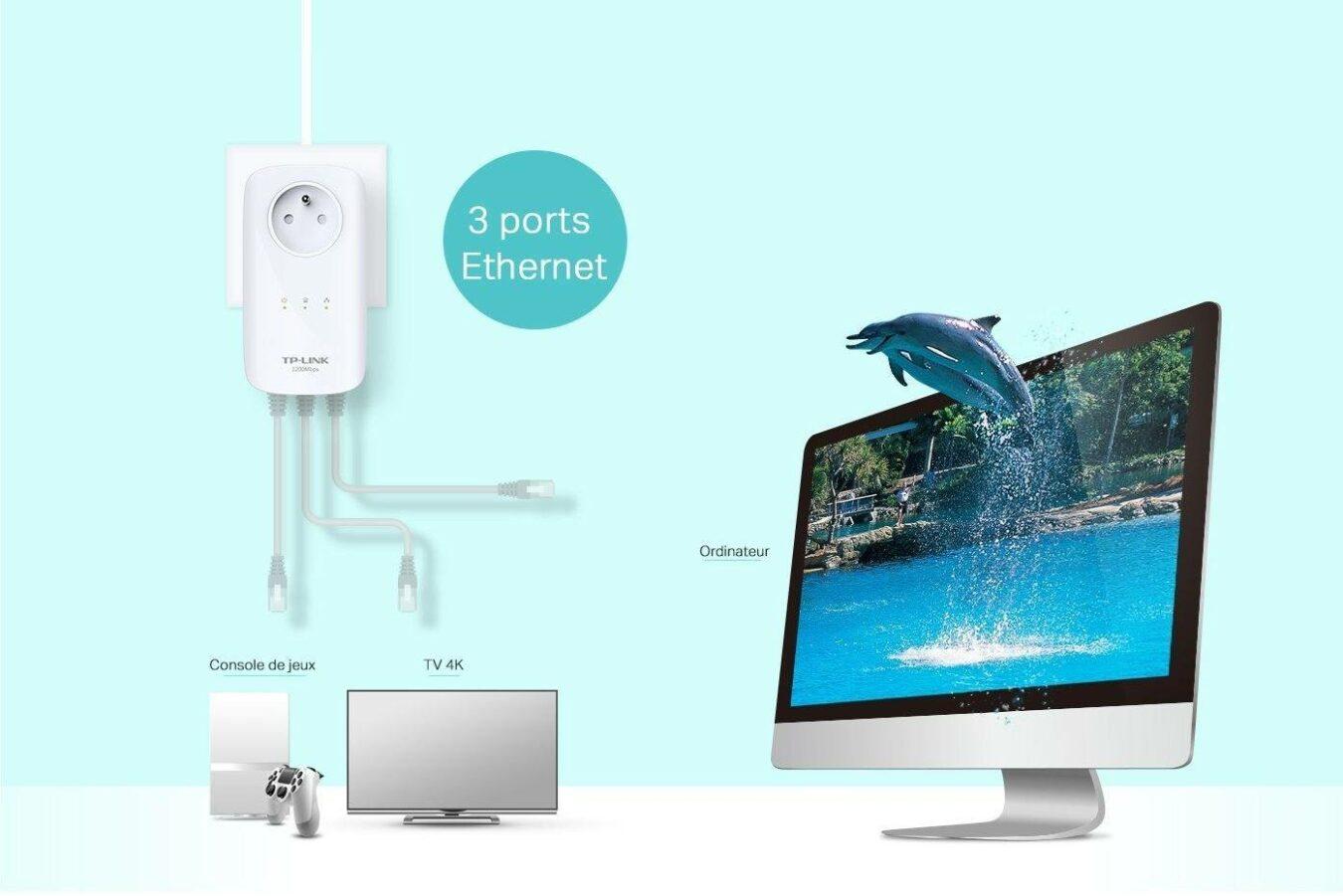 Photo de TP-Link 1200 : l'Ethernet Très Haut Débit en réduction – Bons Plans 16 Février