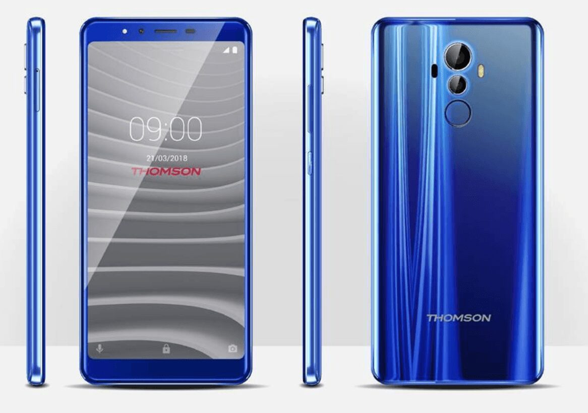 Photo de #MWC18 – Thomson s'invite et lance sa première collection de smartphones