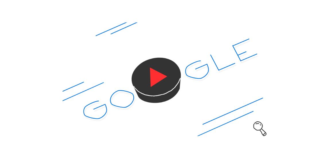 Google Doodle du 17/02/2018 pour les Jeux Olympique