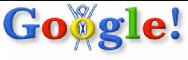 premier Doodle Google, 1998