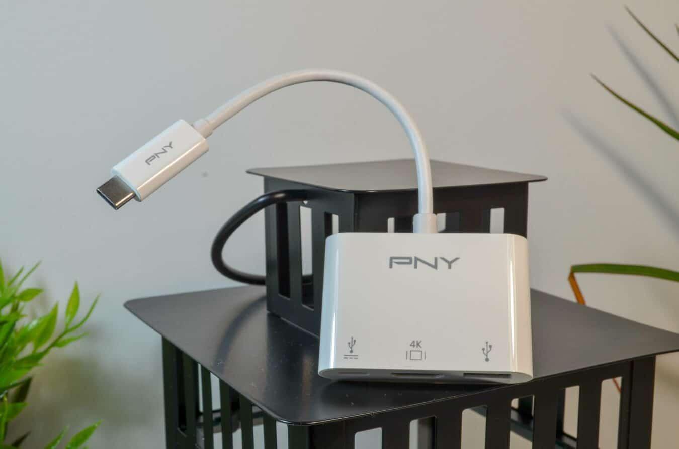 Photo de Test – PNY Adaptateur USB-C : Pour avoir le strict nécessaire