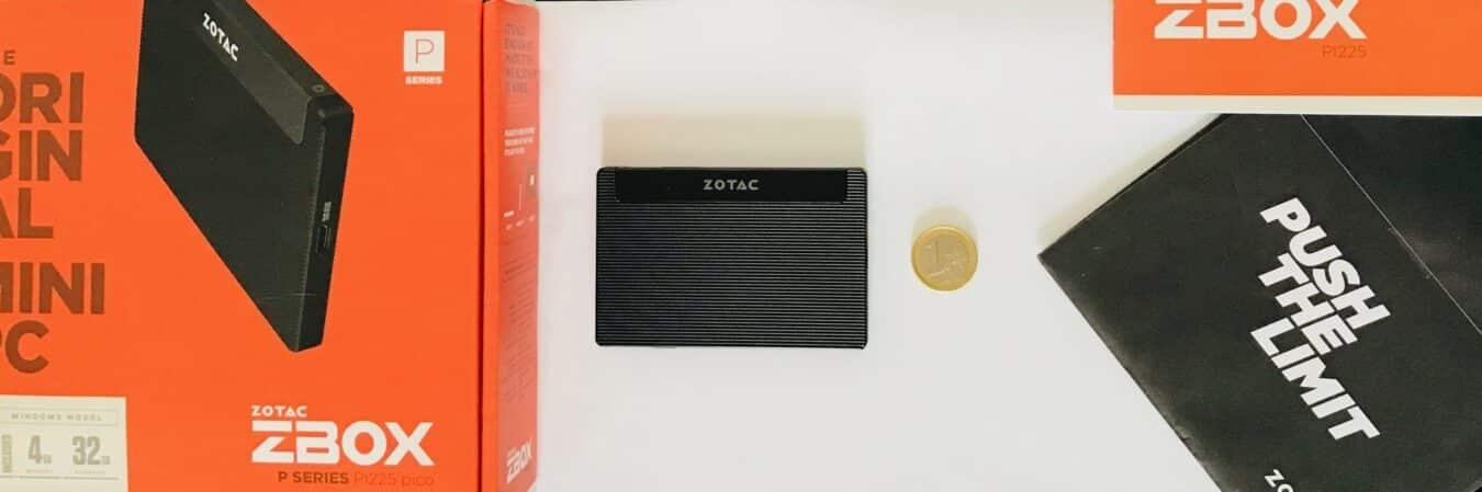 Photo de Test – Zotac Pico PI225 : Un PC format carte de crédit ? C'est le défi réussi par Zotac