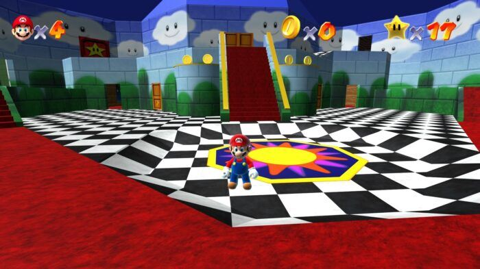 Super Mario 64 HD Remake