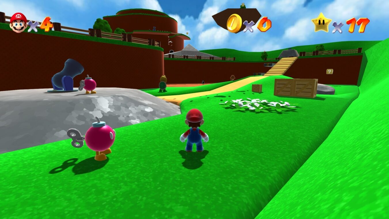 Super Mario HD Remake front