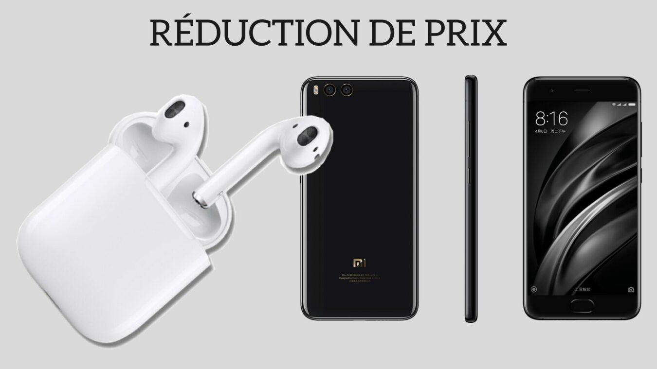 Photo of Promotion à ne pas rater : Des «AirPods» à seulement 9,99€ et le Xiaomi Mi6