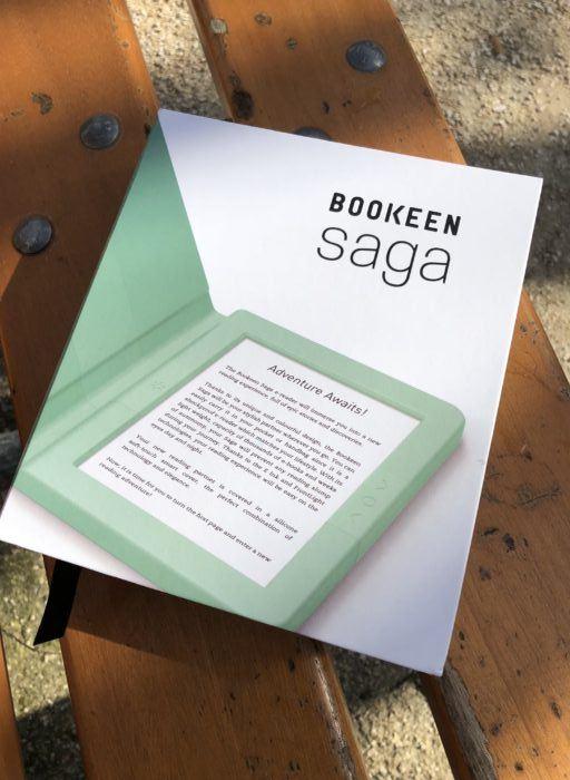 packaging liseuse bookeen saga