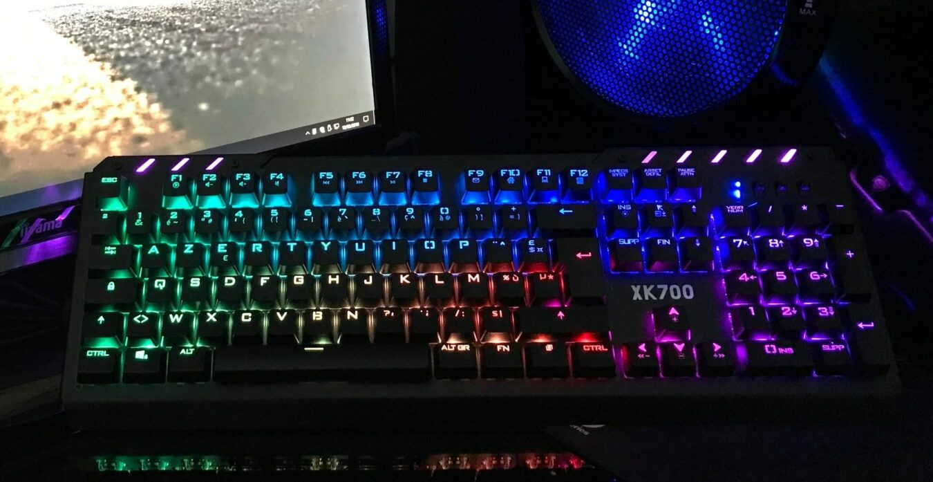 Photo de Test – Clavier XPERT-K700 Spirit of Gamer : Le Gaming assumé !