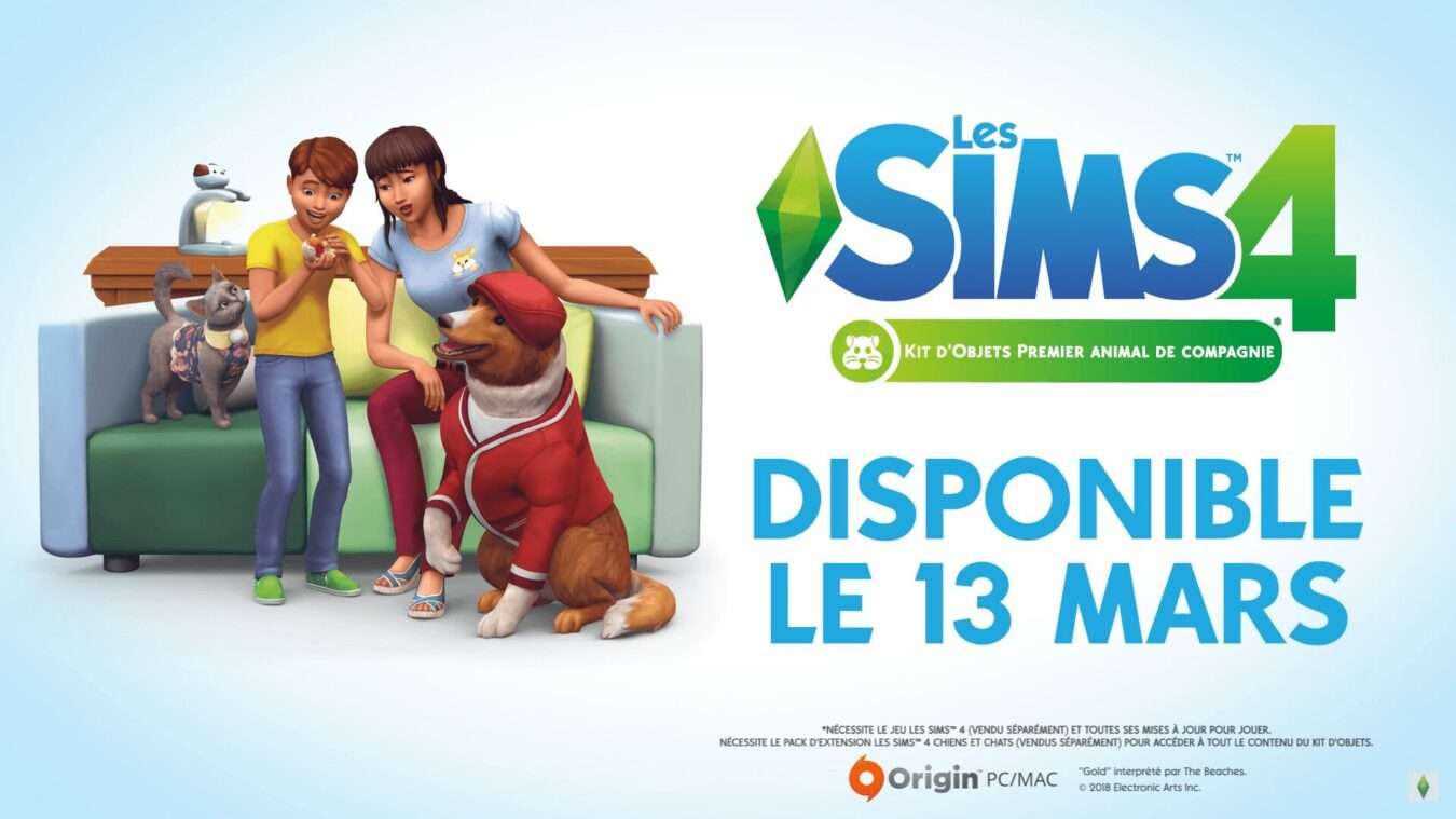 Photo of Les Sims 4 « Premier animal de compagnie » : Un pack de jeu boudé