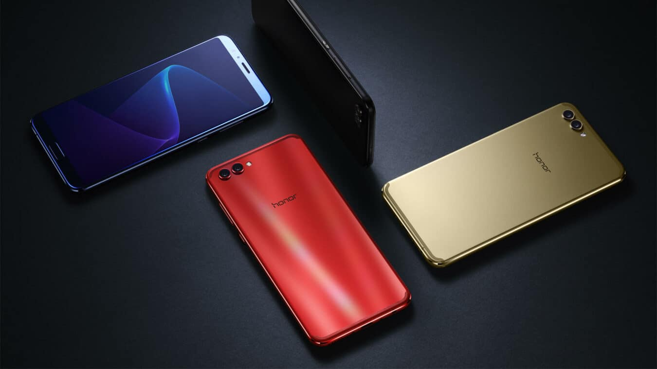 Photo de Le smartphone Honor View 10 rouge en exclusivité Amazon à 499€ – Bons Plans Geek