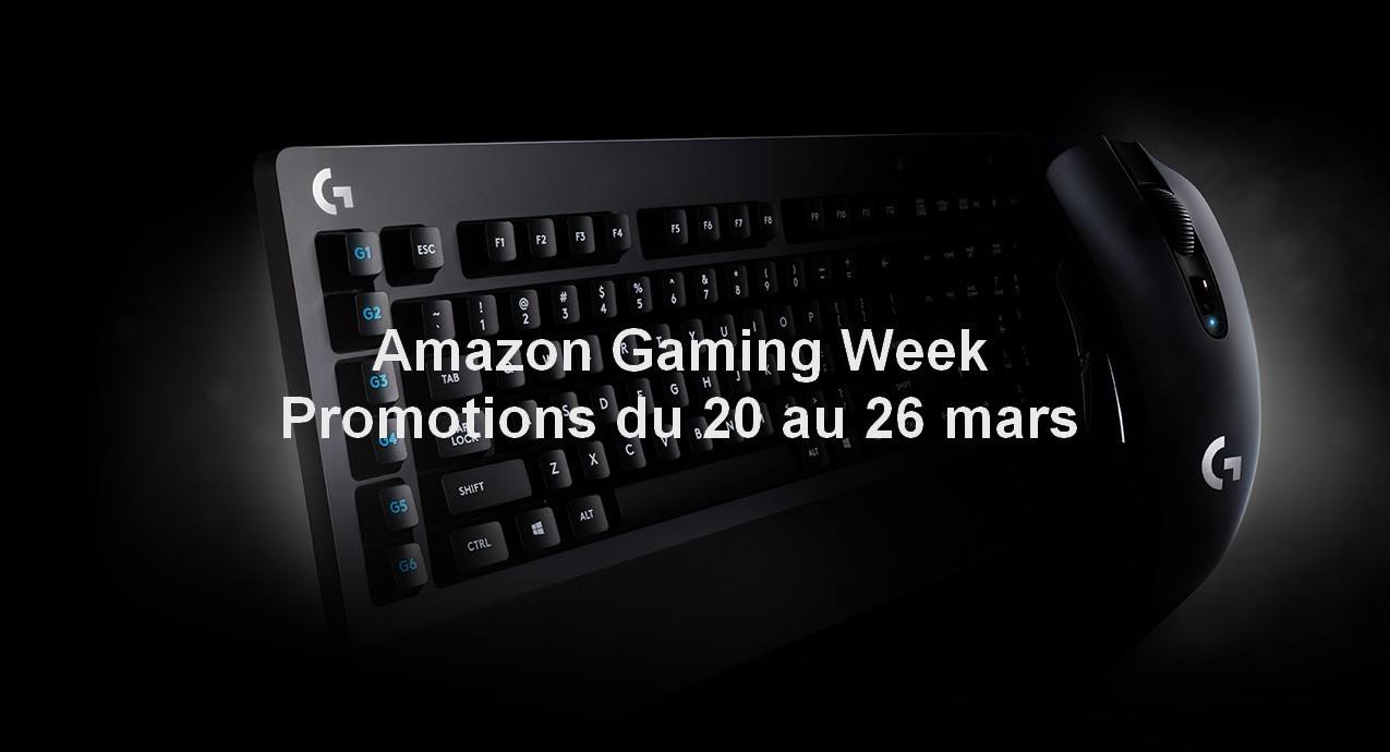 Photo of Amazon Gaming Week : Des produits gaming à prix réduit